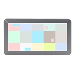 Pastel Diamonds Background Memory Card Reader (mini)
