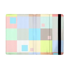 Pastel Diamonds Background Apple iPad Mini Flip Case