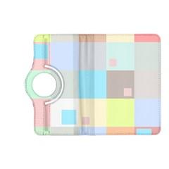Pastel Diamonds Background Kindle Fire Hd (2013) Flip 360 Case