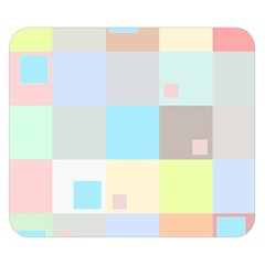 Pastel Diamonds Background Double Sided Flano Blanket (small)