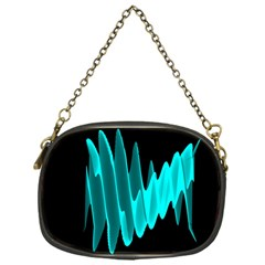Wave Pattern Vector Design Chain Purses (One Side)