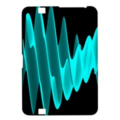 Wave Pattern Vector Design Kindle Fire Hd 8 9