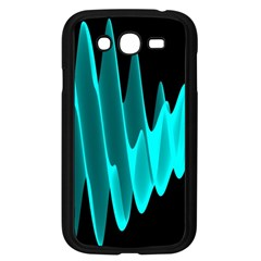 Wave Pattern Vector Design Samsung Galaxy Grand DUOS I9082 Case (Black)