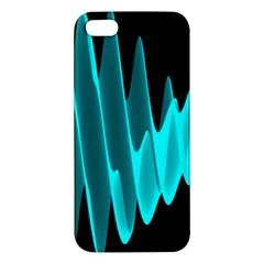 Wave Pattern Vector Design Iphone 5s/ Se Premium Hardshell Case