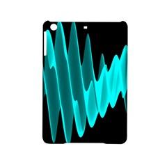 Wave Pattern Vector Design Ipad Mini 2 Hardshell Cases