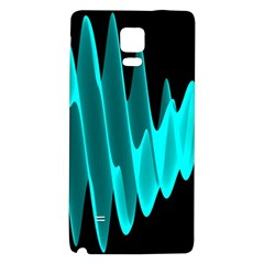 Wave Pattern Vector Design Galaxy Note 4 Back Case