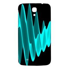 Wave Pattern Vector Design Samsung Galaxy Mega I9200 Hardshell Back Case