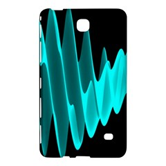 Wave Pattern Vector Design Samsung Galaxy Tab 4 (7 ) Hardshell Case