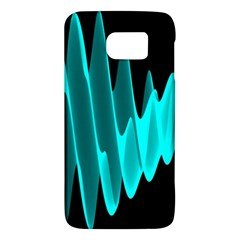 Wave Pattern Vector Design Galaxy S6