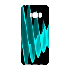 Wave Pattern Vector Design Samsung Galaxy S8 Hardshell Case