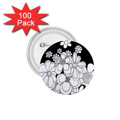 Mandala Calming Coloring Page 1.75  Buttons (100 pack)