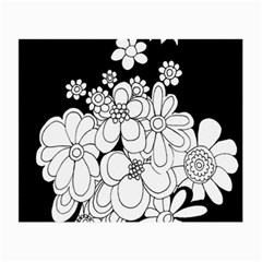 Mandala Calming Coloring Page Small Glasses Cloth (2 Side)