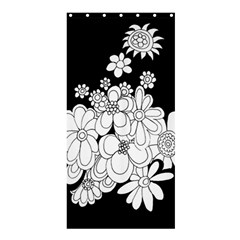 Mandala Calming Coloring Page Shower Curtain 36  x 72  (Stall)