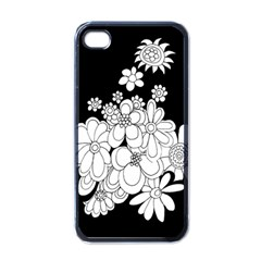 Mandala Calming Coloring Page Apple Iphone 4 Case (black)