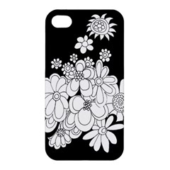 Mandala Calming Coloring Page Apple iPhone 4/4S Premium Hardshell Case