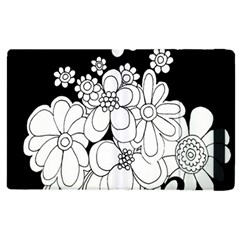 Mandala Calming Coloring Page Apple Ipad 2 Flip Case