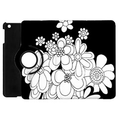Mandala Calming Coloring Page Apple iPad Mini Flip 360 Case