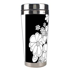 Mandala Calming Coloring Page Stainless Steel Travel Tumblers
