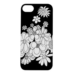 Mandala Calming Coloring Page Apple iPhone 5S/ SE Hardshell Case