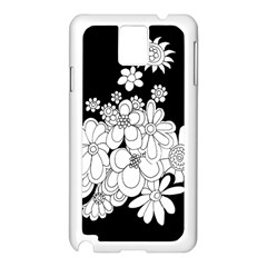 Mandala Calming Coloring Page Samsung Galaxy Note 3 N9005 Case (White)