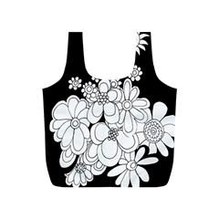 Mandala Calming Coloring Page Full Print Recycle Bags (S)