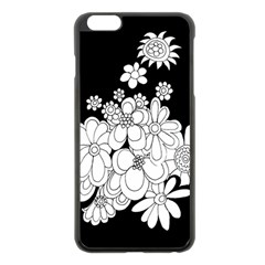 Mandala Calming Coloring Page Apple Iphone 6 Plus/6s Plus Black Enamel Case