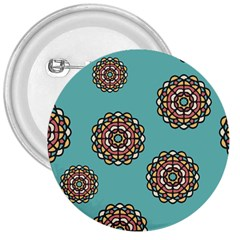 Circle Vector Background Abstract 3  Buttons