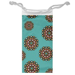 Circle Vector Background Abstract Jewelry Bag