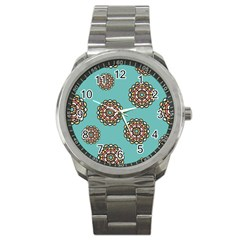 Circle Vector Background Abstract Sport Metal Watch