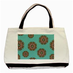 Circle Vector Background Abstract Basic Tote Bag