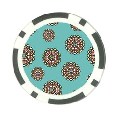 Circle Vector Background Abstract Poker Chip Card Guard