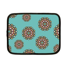 Circle Vector Background Abstract Netbook Case (small)