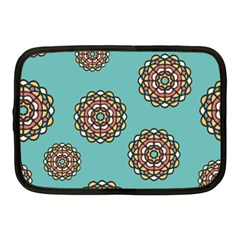 Circle Vector Background Abstract Netbook Case (Medium)