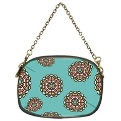 Circle Vector Background Abstract Chain Purses (one Side)