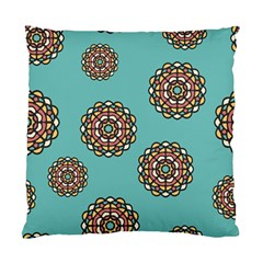 Circle Vector Background Abstract Standard Cushion Case (two Sides)