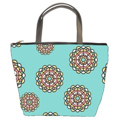Circle Vector Background Abstract Bucket Bags