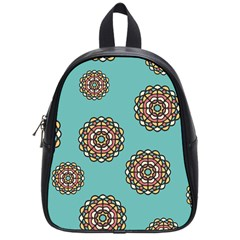 Circle Vector Background Abstract School Bags (Small)