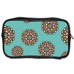 Circle Vector Background Abstract Toiletries Bags