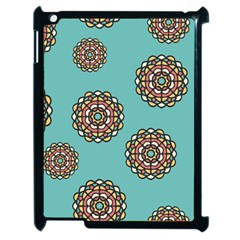 Circle Vector Background Abstract Apple Ipad 2 Case (black)