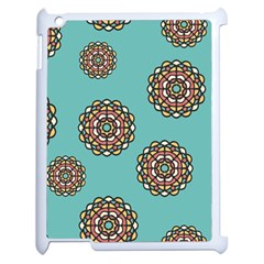 Circle Vector Background Abstract Apple Ipad 2 Case (white)