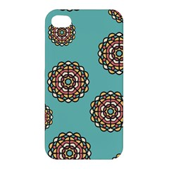 Circle Vector Background Abstract Apple Iphone 4/4s Premium Hardshell Case