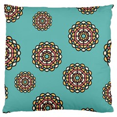 Circle Vector Background Abstract Large Cushion Case (one Side)