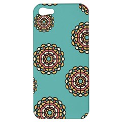 Circle Vector Background Abstract Apple iPhone 5 Hardshell Case