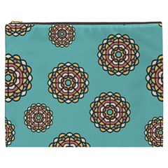 Circle Vector Background Abstract Cosmetic Bag (XXXL)
