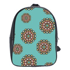 Circle Vector Background Abstract School Bags (xl)