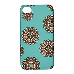 Circle Vector Background Abstract Apple Iphone 4/4s Hardshell Case With Stand