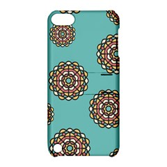 Circle Vector Background Abstract Apple Ipod Touch 5 Hardshell Case With Stand