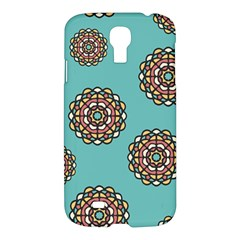 Circle Vector Background Abstract Samsung Galaxy S4 I9500/I9505 Hardshell Case