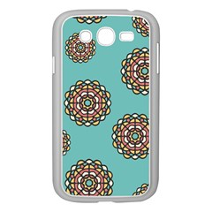 Circle Vector Background Abstract Samsung Galaxy Grand Duos I9082 Case (white)