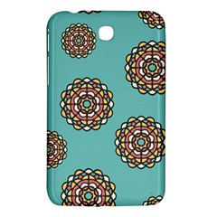 Circle Vector Background Abstract Samsung Galaxy Tab 3 (7 ) P3200 Hardshell Case